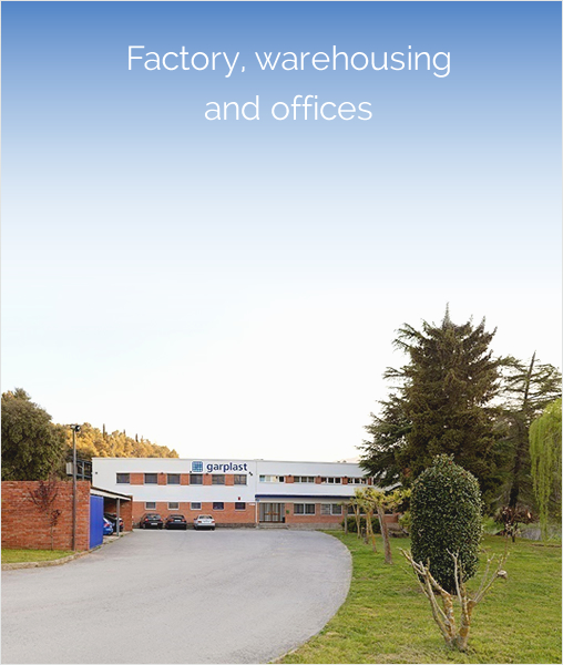 Factory, warehousing and offices